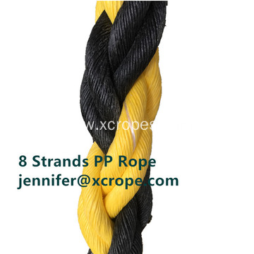 8 Strands Polyproplene Rope Tiger Rope